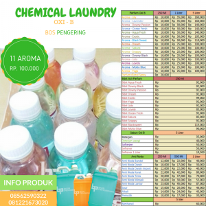 Chemical Laundry Kiloan